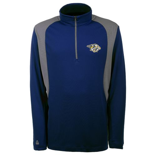 Antigua Men's Nashville Predators Delta 1/4 Zip Pullover