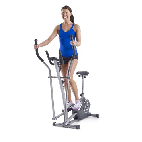 Weslo Momentum G 3.2 Bike/Elliptical Hybrid Trainer - view number 2