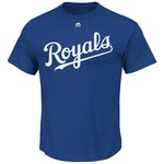 Majestic Boys' Kansas City Royals Salvador Pérez Short Sleeve T-shirt - view number 2