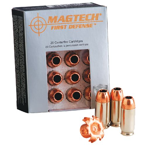 Display product reviews for Magtech First Defense SCHP Centerfire Handgun Ammunition