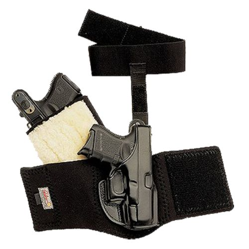 Galco Ankle Glove S&W J Frame Ankle Holster Left-Handed