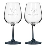 Boelter Brands Houston Texans 12 oz. Wine Glasses 2-Pack - view number 1