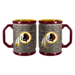 Boelter Brands Washington Redskins Stone Wall 15 oz. Coffee Mugs 2-Pack