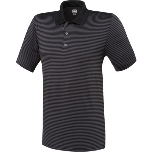BCG Men's Golf Ministripe Tru-Wick Short Sleeve Polo Shirt