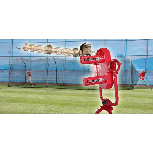 Heater Sports Deuce Pitching Machine and Xtender Batting