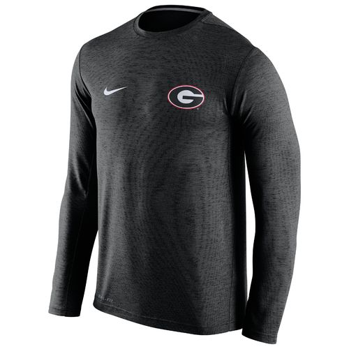 Nike™ Men's University of Georgia DF Touch Long Sleeve T-shirt