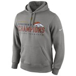 Nike Men's Denver Broncos American Football Conference Championship Trophy Hoodie