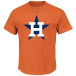 Majestic Men's Houston Astros Official Logo T-shirt