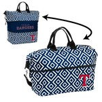 Logo Texas Rangers Double-Diamond Expandable Tote