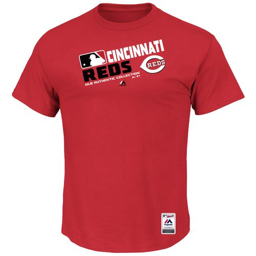 Majestic Men's Cincinnati Reds On Field Team Choice T-shirt