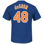 Majestic Men's New York Mets Jacob deGrom #48 T-shirt