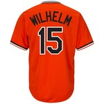 Majestic Men's Baltimore Orioles Hoyt Wilhelm #15 Cooperstown Cool Base 1965-66 Replica Jersey - view number 1