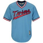 Majestic Men's Minnesota Twins Cooperstown Cool Base 1965 Replica Jersey