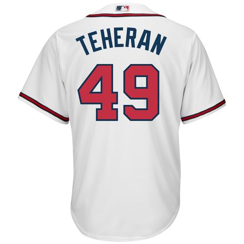 Majestic Men's Atlanta Braves Julio Teheran #49 Cool Base Replica Jersey - view number 1