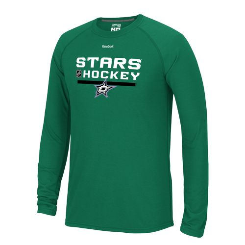 Reebok Men's Dallas Stars Locker Room Long Sleeve T-shirt