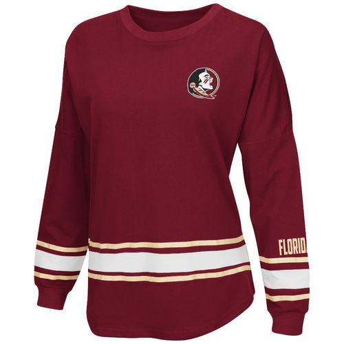 Colosseum Athletics™ Women's Florida State University All Around Oversize Long Sleeve T-shi