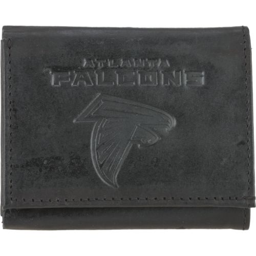 Rico Men's Atlanta Falcons Embossed Trifold Wallet