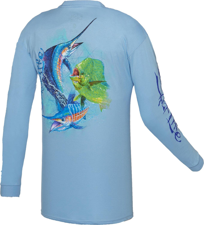 Salt Life™ Men's Ocean Slam Long Sleeve T-shirt