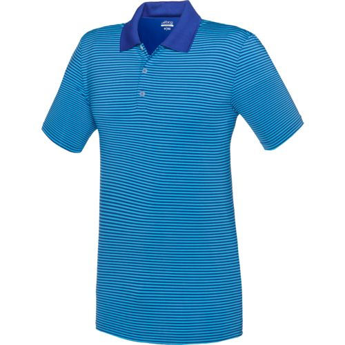 BCG Men's Golf Ministripe Tru Wick Short Sleeve Polo Shirt
