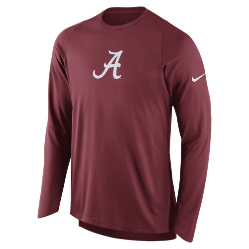 Nike Men's University of Alabama Long Sleeve Shooter T-shirt