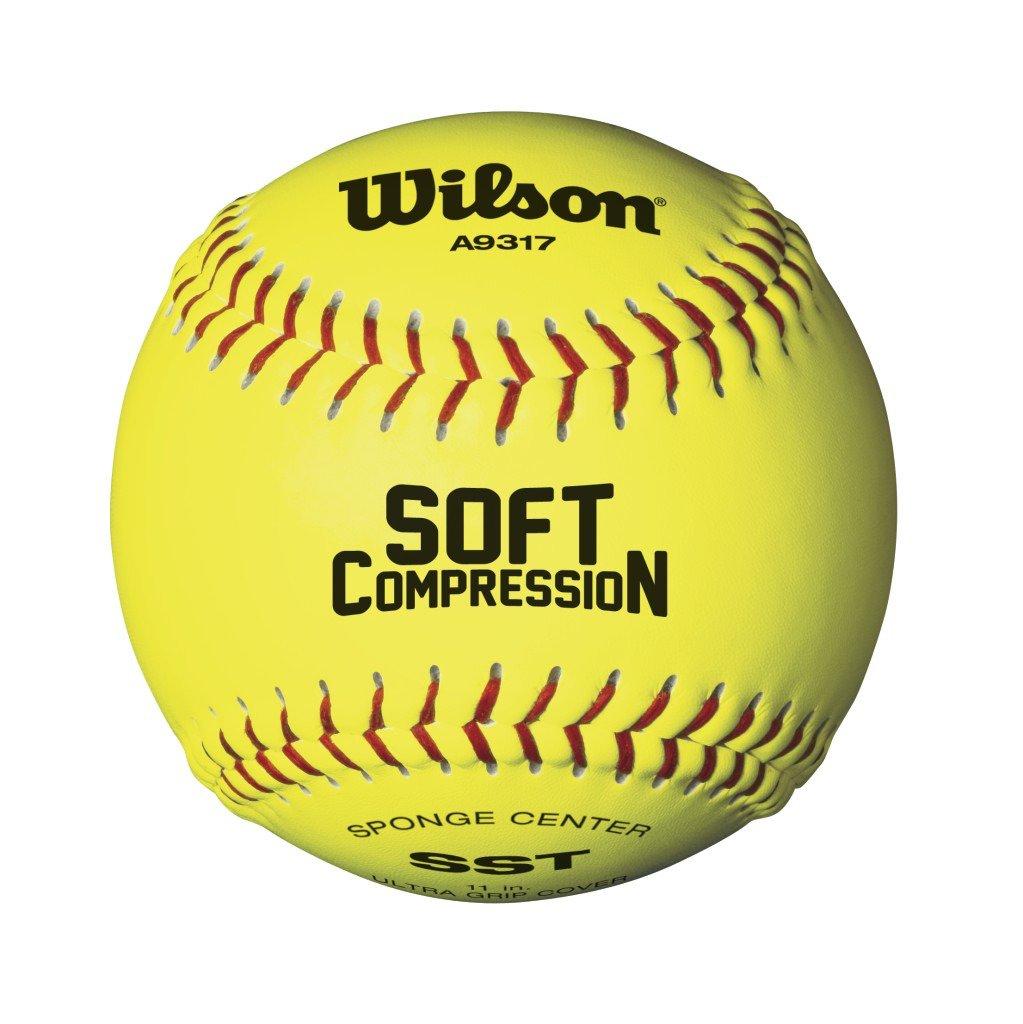 "Wilson™ 11"" Soft Compression Softball"
