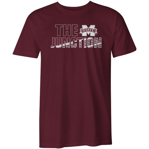 Image One Youth Mississippi State University Spirit Stripe Comfort Color T-shirt