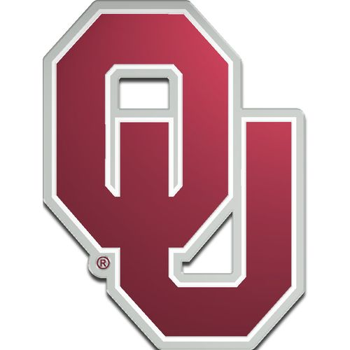 Stockdale University of Oklahoma Laser-Cut Auto Emblem - view number 1