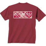 New World Graphics Women's University of Alabama Madras T-shirt