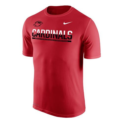 Nike™ Men's Lamar University Dri-FIT Legend 2.0 Short Sleeve T-shirt