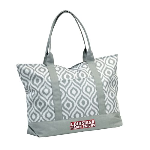 Logo™ Women's University of Louisiana at Lafayette Ikat Tote Bag