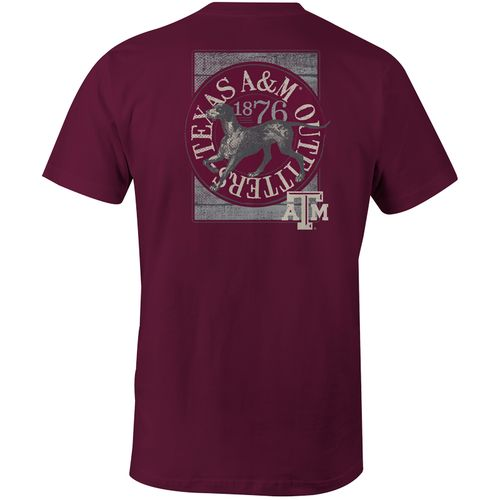 Image One Men's Texas A&M University Retriever Comfort Color Short Sleeve T-shirt
