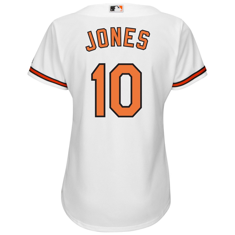 Majestic Women's Baltimore Orioles Adam Jones #10 Cool Base Replica Jersey