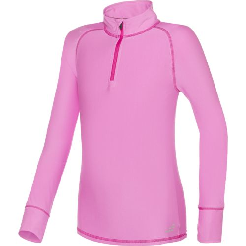 BCG™ Girls' Cold Weather 1/4 Zip Mock Neck Pullover