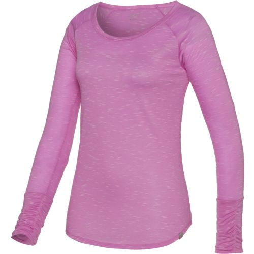 BCG™ Women's Lifestyle Volume Group Long Sleeve Ruched