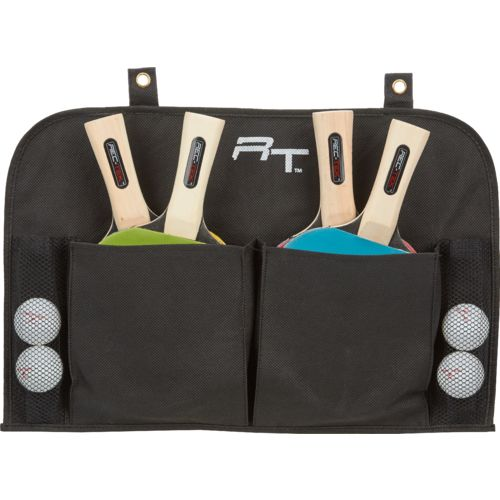 Rec-Tek™ 4-Player Racket Table Tennis Set with Organizer