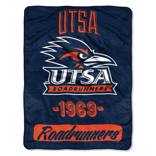 The Northwest Company University of Texas at San Antonio 40 Yard Dash Micro Raschel Throw