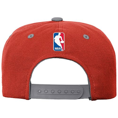 adidas Boys' Houston Rockets On Court Snapback Cap - view number 2