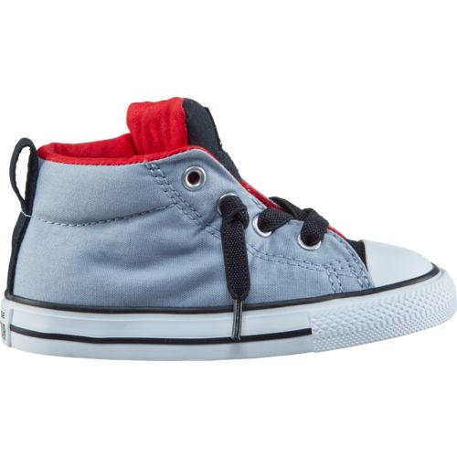 Converse Infants' Chuck Taylor All-Star Fundamental Mid Street Slip-on Shoes