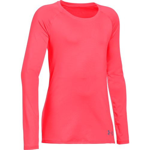 Under Armour® Girls' HeatGear® Long Sleeve T-shirt