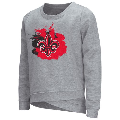 Colosseum Athletics™ Girls' University of Louisiana at Lafayette Alaia Long Sleeve Pullover