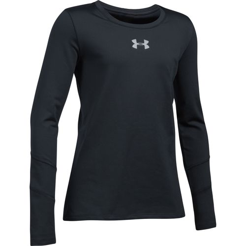Under Armour™ Girls' ColdGear® Crew T-shirt