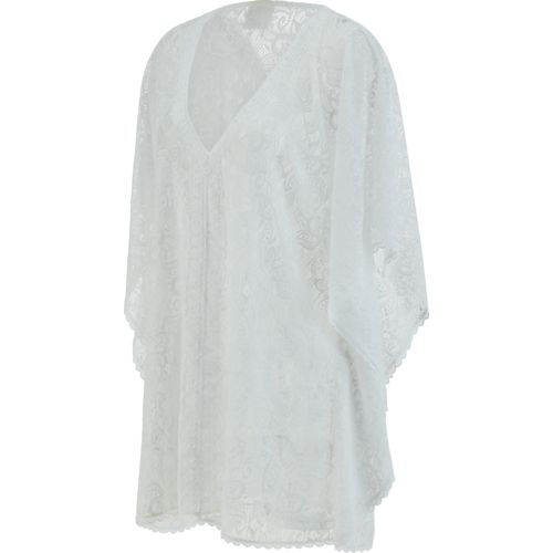 O'Rageous Women's Lace Poncho Cover-Up