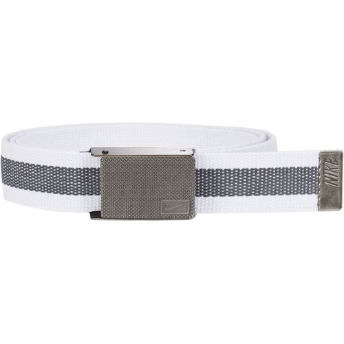 Display product reviews for Nike Men's Rubber Inlay Reversible Web Belt