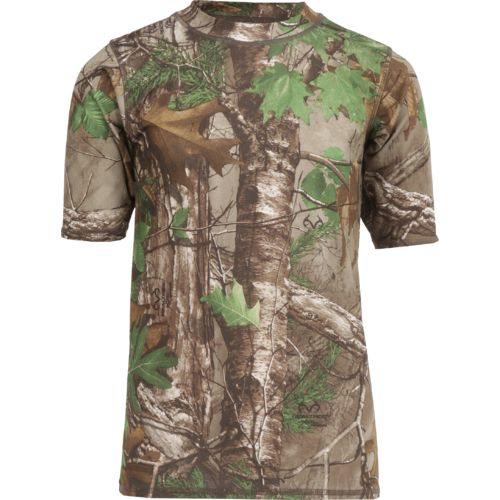 O'Rageous® Boys' Realtree Short Sleeve Rash Guard
