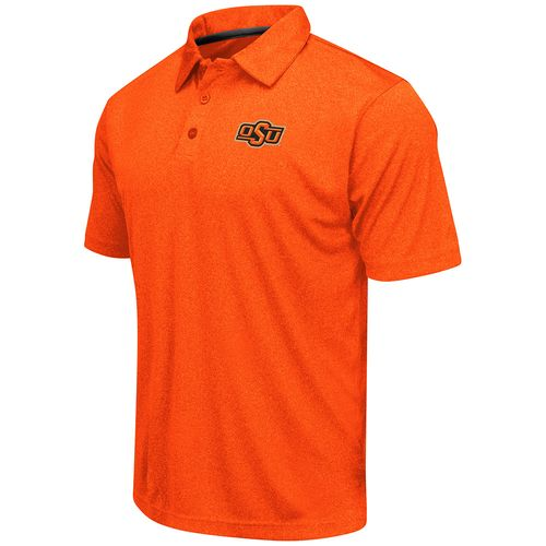Colosseum Athletics™ Men's Oklahoma State University Academy Axis Polo Shirt
