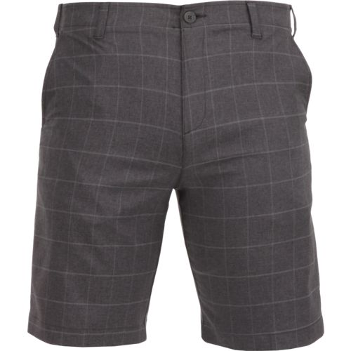 BCG Men's Plaid Golf Short