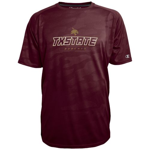 Champion™ Men's Texas State University Impact Embossed T-shirt