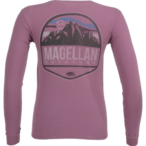 Magellan Outdoors™ Men's Mountain Label Long Sleeve Pocket T-shirt