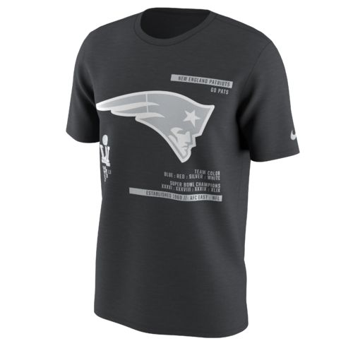 Nike Men's New England Patriots Super Bowl 51 Bound '16 Media Night T-shirt