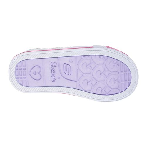 SKECHERS Toddlers' Twinkle Toes Shuffles Itsy Bitsy Casual Shoes - view number 6